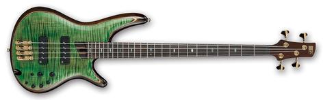 Ibanez SR1400EMLG Mojito Lime Green SR Premium 4 String Electric Bass SR1400EMLG