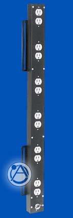 Atlas Sound ACS1 AC Outlet Strip 12 outlets ACS1