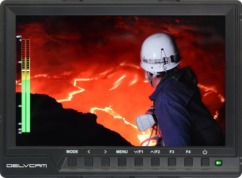Delvcam DELV-HD7-4K 1920 X1200 Camera Top LCD Monitor