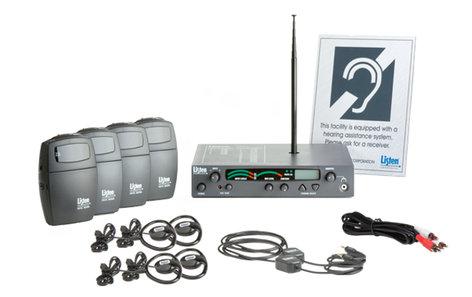 Listen Technologies LS-44-072  Classic Level I Stationary RF System (72 MHz)  LS-44-072