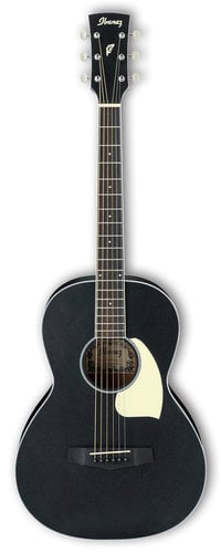 Ibanez PN14 Performance Parlor Acoustic Guitar - Weathered Black PN14WK