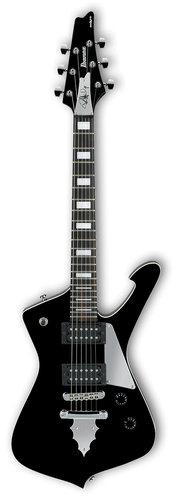 Ibanez PSM10 Paul Stanley Signature 6-String Electric Guitar - Black PSM10BK