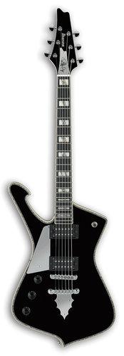 Ibanez PS120L Paul Stanley Signature 6-String Left Handed Electric Guitar - Black PS120LBK