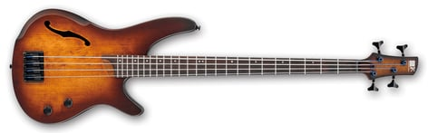 Ibanez SRH500-DEF SR Bass Workshop 4 String Electric Bass - Dragon Eye Burst Flat SRH500DEF