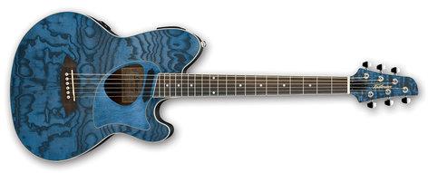Ibanez TCM50-DNO Talman Acoustic Electric Guitar - Dark Night Ocean TCM50DNO
