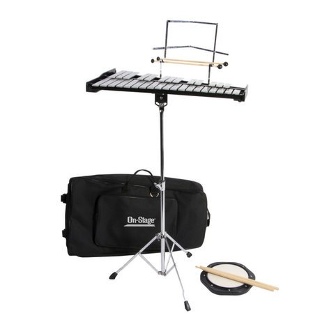On-Stage Stands BSK2500 Bell Kit with Stand BSK2500