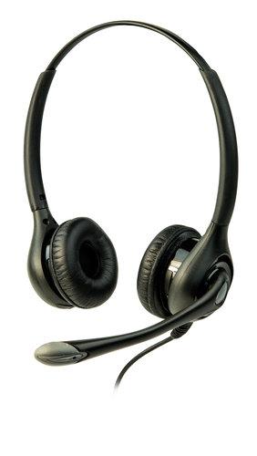 Listen Technologies LA-453  Headset 3, Dual On-Ear Headset with Boom Microphone LA-453