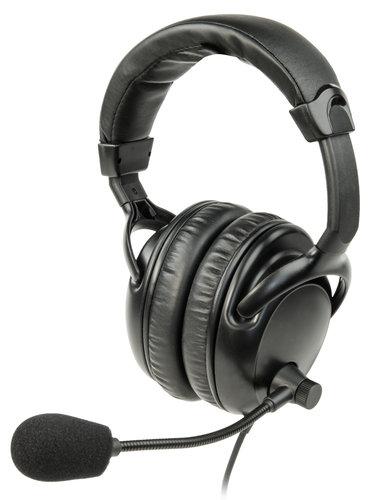 Listen Technologies LA-454  Headset 4, Dual Over-Ear Headset with Boom Microphone LA-454