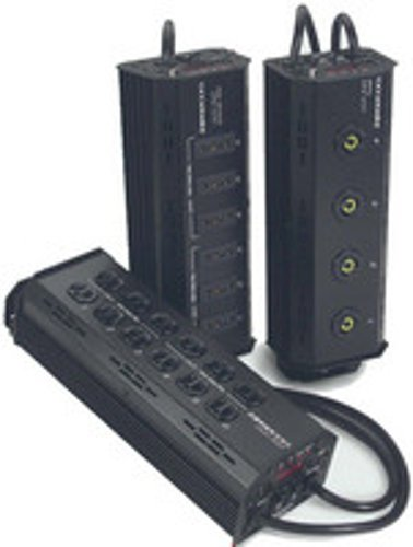Leprecon 90-06-0256 ULD-360 Stage Pin 6-Channel Tree-Mount Dimmer ULD360-STANDARD