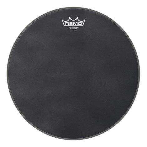 """Remo SA-0814-ES  14"""" Ambassador Black Suede Snare Side Drumhead SA-0814-ES"""