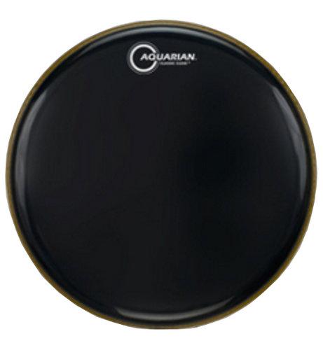 """Aquarian Drumheads CC12BK 12"""" Clear Gloss Black Classic Series Drumhead CC12BK"""