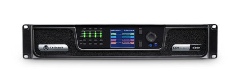 Crown CDi 4 300 Analog Input, 4 Channel, 300W Per Output Channel, Amplifier CDI4x300-U-US