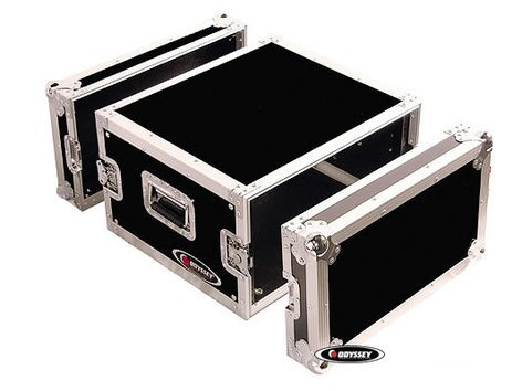 Odyssey FZAR6  6RU Pro Amp Rack Flight Case FZAR6