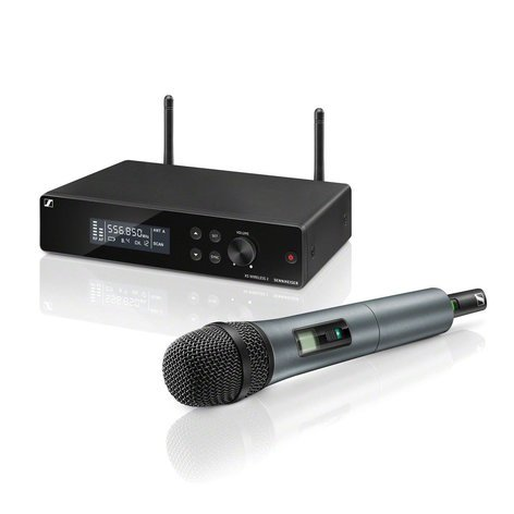 Sennheiser XSW2-865-A Vocal Set Wireless System with Handheld Transmitter, 865 Capsule XSW2-865-A