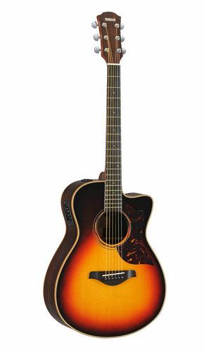 Yamaha AC3R-TBS Small Body Vintage Sunburst Acoustic-Electric Guitar with Hard Bag Included AC3R-TBS