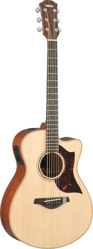 Yamaha AC3M-VN Vintage Natural Small Body Acoustic-Electric Guitar with Hard Bag Included AC3M-VN