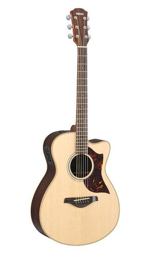 Yamaha AC1R-VN Vintage Natural Acoustic-Electric Small Body Cutaway Guitar AC1R-VN