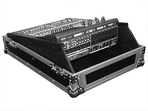 "Odyssey FZMX1913  Flight Zone Series Universal 19"" Rack Mountable Mixer Case FZMX1913"