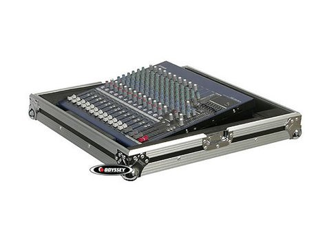 "Odyssey FZNR19MIX  Flight Zone Series Universal 19"" Non-Rack Mount Mixer Case FZNR19MIX"