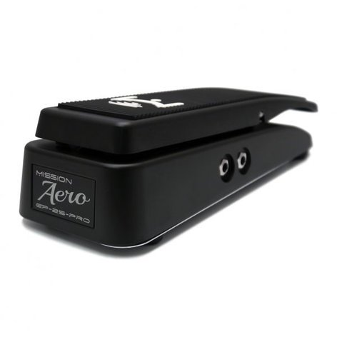 Mission Engineering Inc EP-25-PRO-BK Flat Black Dual Channel Expression Pedal EP-25-PRO-BK