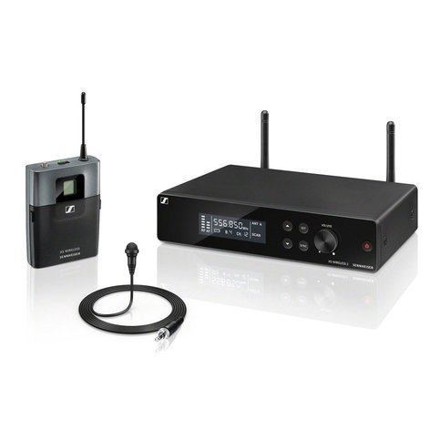 Sennheiser XSW2-ME2-A Lavalier Set Wireless System with BP transmitter, A Range Frequency XSW2-ME2-A
