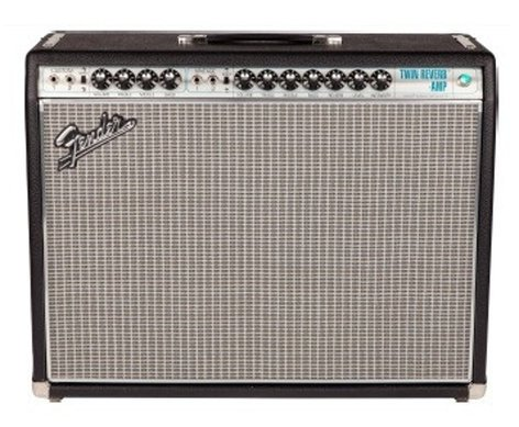 """Fender TWIN-REVERB-68-CUSTM '68 Custom Twin Reverb 85W 2x12"""" Vintage Modified Tube Combo Electric Guitar Amplifier with Amp Cover TWIN-REVERB-68-CUSTM"""