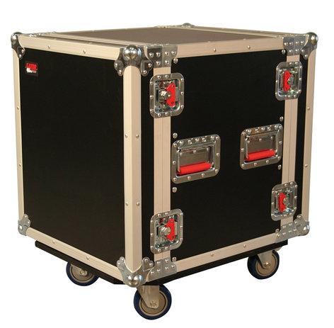 Gator Cases G-TOUR-12U CAST 12RU Tour Style ATA Rack Case G-TOUR-12U-CAST