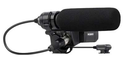 Sony XLRK1M-RST-01 XLRK1M [RESTOCK ITEM] XLR Adapter and Mic Kit XLRK1M-RST-01