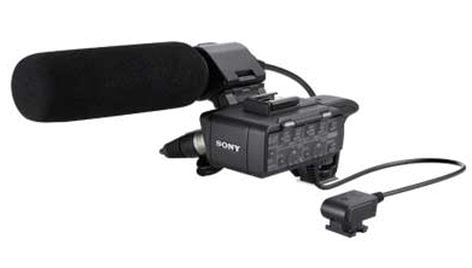 Sony XLRK1M [RESTOCK ITEM] XLR Adapter and Mic Kit XLRK1M-RST-01