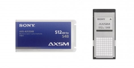 Sony AXS-A512S48PK4 4-Pack of AXS Memory A Series Cards, 512 GB, 4.8 Gbps AXSA512S48PK4