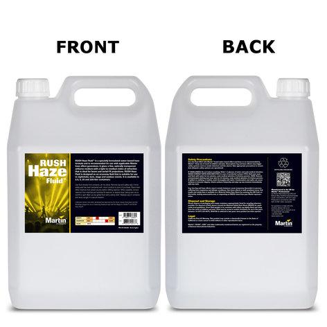 Martin Professional RUSH-HAZ-FLUID-5L 5 Liter RUSH Haze Fluid RUSH-HAZ-FLUID-5L