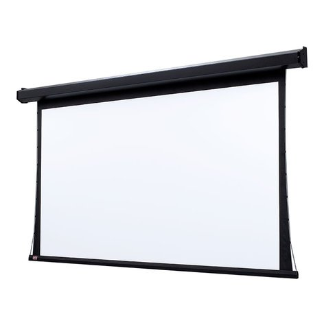 "Draper Shade and Screen 101642L  165"" 16:10, Matt White XT1000V Premier Electric Projection Screen with Low Voltage Motor 101642L"
