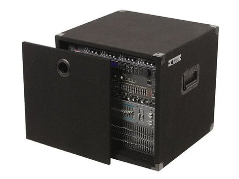 """Odyssey CRE10  10RU, 17"""" Deep Carpeted Effects Rack CRE10"""