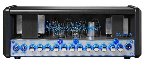 Hughes & Kettner TubeMeister 36 Head 36W 3-Channel Tube Guitar Amplifier Head with Onboard Red Box Output TM36H