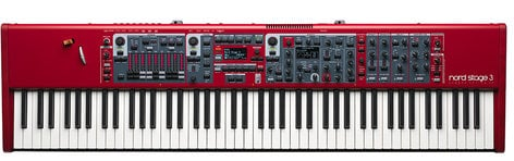 Nord NS3-88 Nord Stage 3 88 88-Key Weighted Hammer Action Keyboard NS3-88
