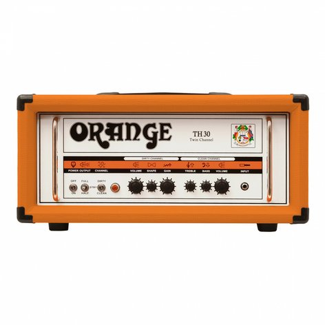 Orange Amplification TH30 30W 2-Channel Tube Guitar Amplifier Head TH30H