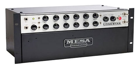 Mesa Boogie Ltd Lone Star Rack 100W Tube Rackmount Guitar Amplifier Head LONESTAR-RM-HEAD