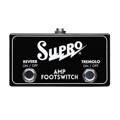 Supro SF2 - Tremolo & Reverb Dual Footswitch SF2-SUPRO