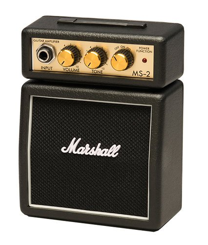Marshall Amplification MS2 Micro Battery Powered Guitar Amplifier MS2-MARSHALL