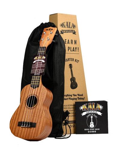 Kala KALA-LTP-S Ukulele Learn to Play Starter Kit KALA-LTP-S