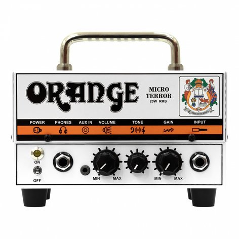 Orange Amplification MT20 Micro Terror 20W Tube/Solid-State Guitar Amplifier Head MT20