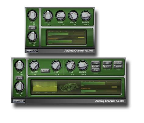 McDSP Analog Channel Native [EDU STUDENT/FACULTY] AC101 & AC102 Tape Emulation Plug-ins [DOWNLOAD] ANALOG-CH-NAT-EDU