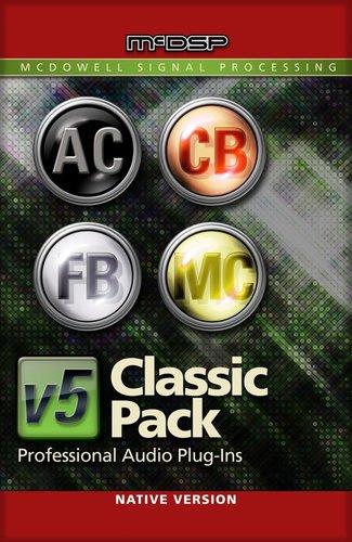 McDSP Classic Pack Native [EDU STUDENT/FACULTY] Plugin Bundle [DOWNLOAD] CLASSIC-PACK-NAT-EDU
