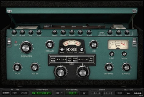 McDSP EC-300 Native [EDU STUDENT/FACULTY] EC-300 Echo Collection Native [DOWNLOAD] EC-300-NATIVE-EDU