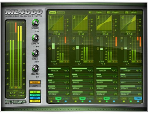 McDSP ML400 Native [EDU STUDENT/FACULTY] Mastering Solution PlugIn Bundle [DOWNLOAD] ML4000-NATIVE-EDU