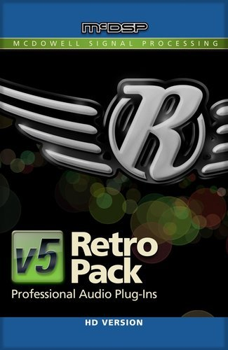 McDSP Retro Pack Native [EDU STUDENT/FACULTY] Vintage Style Design Plugin Bundle [DOWNLOAD] RETRO-PACK-NAT-EDU