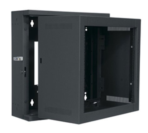 """Middle Atlantic Products EWR-12-17 12-Space, 17"""" Deep EWR Series Sectional Wall Rack EWR12-17"""