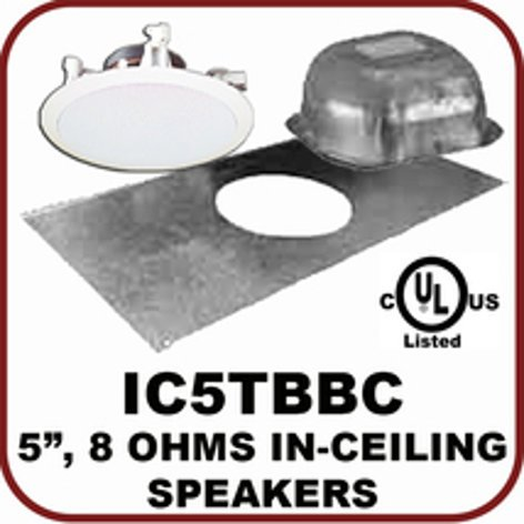 OWI Incorporated IC5TBBC  Passive Speaker Kit with Hardware IC5TBBC