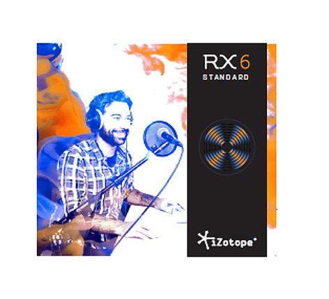 iZotope RX 6 Standard [DOWNLOAD] Complete Audio Repair Software RX6