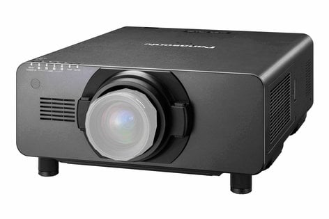 Panasonic PT-DZ16K 16,000 Lumen 3-Chip DLP 1080p Projector with No Lens PTDZ16K2U